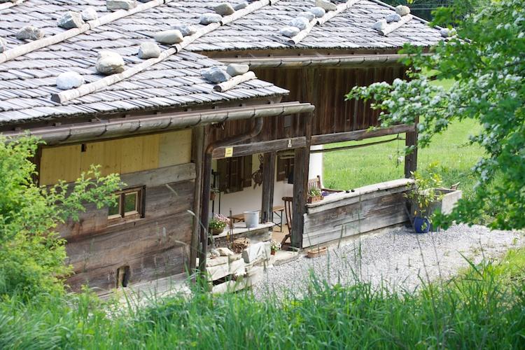Restaurierter Bauernhof